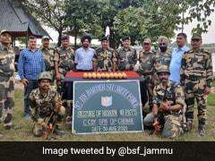 Border Security Force Seizes 10 Kg Heroin Near International Border In Jammu