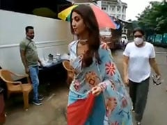 Shilpa Shetty Is Back At Work After A Month