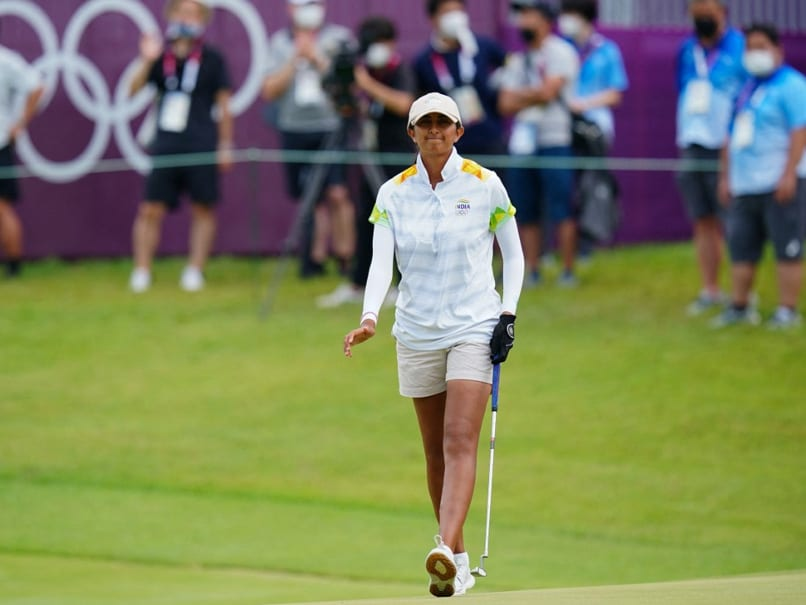 """""""Disheartened"""" Aditi Ashok Rues Missing Out On Tokyo Olympics Medal"""