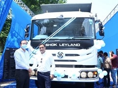 Ashok Leyland Launches New AVTR 4825 Tipper Truck With Bogie Suspension