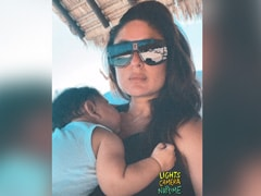 How Adorable Is This Pic Of Kareena Kapoor And Baby Jeh In The Maldives?