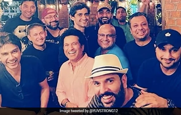 Watch: Yuvraj Singhs Montage With Former Teammates Is Friendship Goals