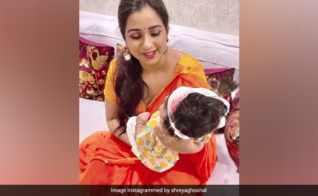 ICYMI: Shreya Ghoshal And Son Devyaan In A Janmashtami-Special Post