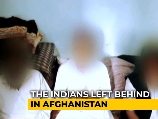 Video : Indians In Afghanistan Seek Government's Help In Evacuation