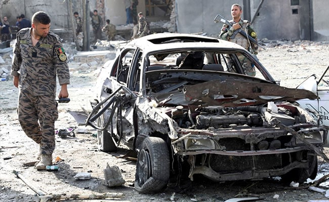 Taliban Claim Responsibility For Car Bomb Attack In Afghan Capital