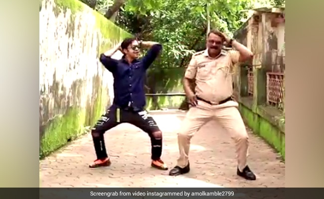 Mumbai Cop Becomes Social Media Sensation With His Dance Moves