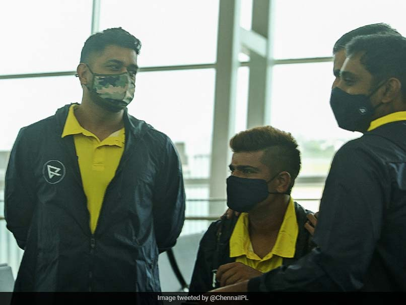 """""""Get Ready Folks"""": MS Dhoni, Other Chennai Super Kings Players Depart For Dubai For IPL 2021. See Pics"""