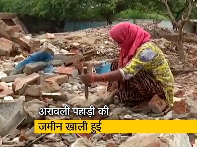 Videos : फरीदाबाद का खोरी गांव अब पूरी तरह मलबे में तब्दील हो गया