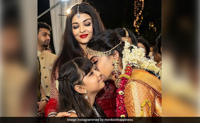 When Aishwarya Rai Bachchan's Daughter Aaradhya's 'Sweet Voice' Brought Comfort At Aunt Shloka's Wedding