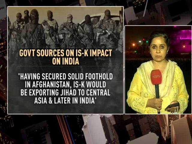 """Video : """"Caliphate In India"""" Among Kabul-Bombing ISIS Unit's Goals: Intel Sources"""