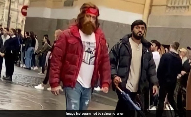 Viral: Salman Khan's New Look From Tiger 3 Set In Russia