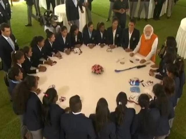 """Video : """"You Have Inspired Young Generation"""": PM Modi's Chat With Olympians"""