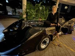 Filmmaker Ahmed Khan Gifts Wife Shaira A Limited Edition Batmobile. See Viral Pics