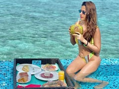In Maldives, Surbhi Chandna Had Breakfast With A Stunning View