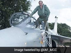 Air Force Chief RKS Bhadauria Flies Sortie In LCA Tejas MK-1 During Bengaluru Visit