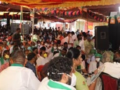 Tamil Nadu BJP Protests Against Party-Ruled Karnataka's River Project