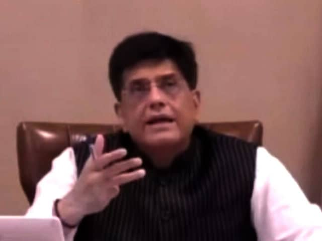 """Video : """"Would Like Movies Like Star Wars Produced In India"""": Minister Piyush Goyal"""