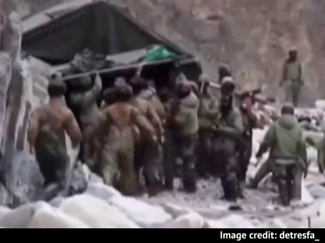 Video : On Day Of Joint Statement, China Releases Video Of 2020 Galwan Clashes