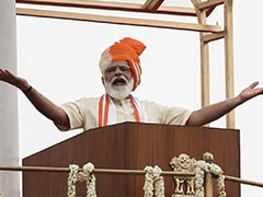 """Health Workers """"Deserve To Be Worshipped"""": PM On Independence Day"""