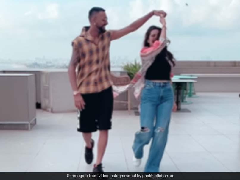 Watch: Krunal Pandya, Pankhuri Sharma Groove On Dua Lipas Hit Song Levitating