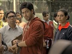 """""""<i>Gunda</i> Of The Film"""" Shah Rukh Khan Felt Like Thanking <I>Chak De! India</I> Team And So He Did"""