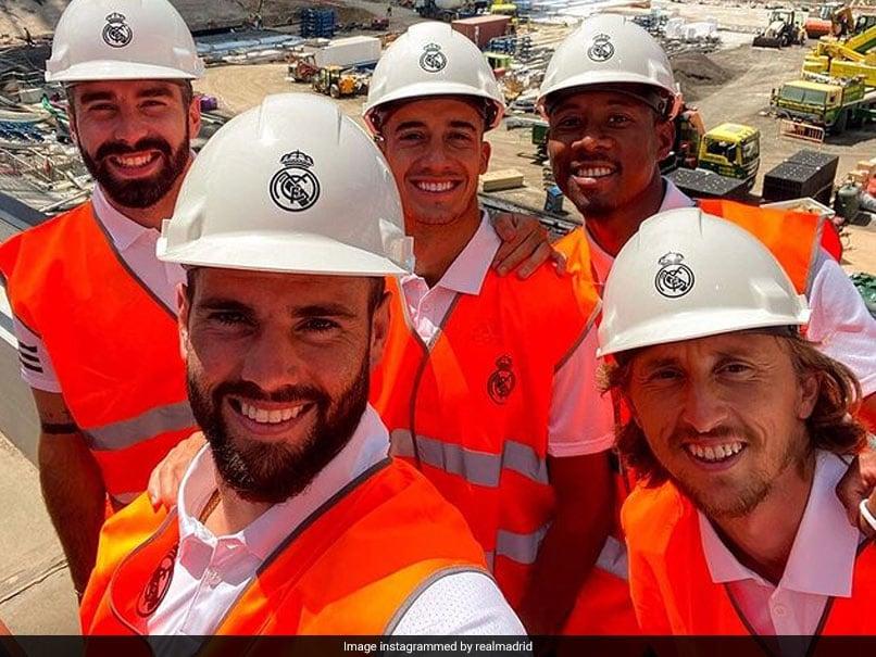 Watch: Luka Modric, Other Real Madrid Stars Offer Fans Sneak Peek At Santiago Bernabeus Renovation