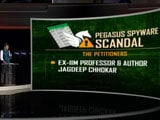 Video : Supreme Court Issues Notice To Centre On Pegasus Spyware Scandal