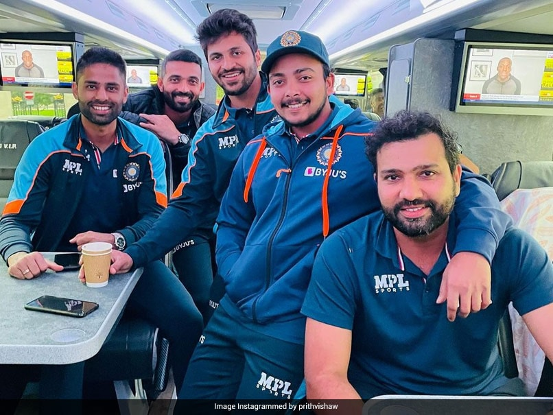 """England vs India: Prithvi Shaw """"Off To Leeds"""" Ahead Of Third Test, Posts Pic With Teammates"""