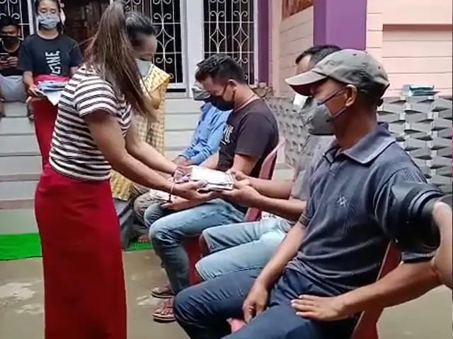 Video : Mirabai Chanu's Treat For Truckers Who Helped Her Travel For Training