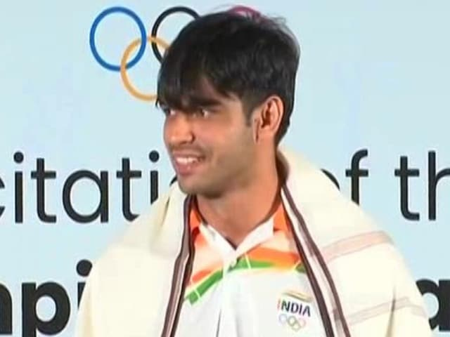 """Video : """"Knew It Was Something Special"""": Neeraj Chopra On The Throw That Won Him Gold"""