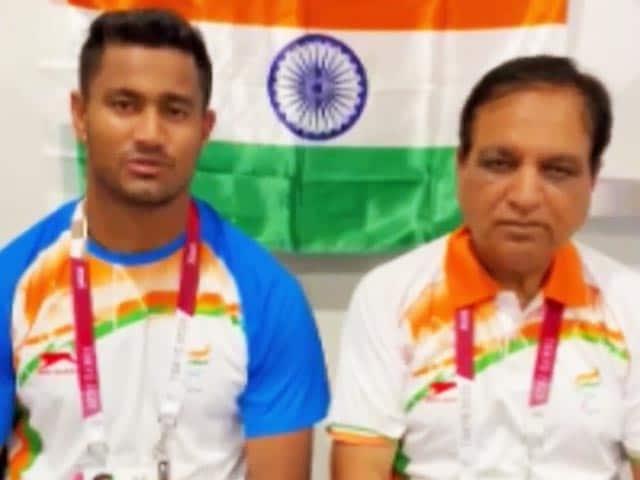 "Video : Tokyo Paralympics: Sundar Singh Gurjar ""Elated"" To Win Javelin Bronze"