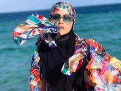 In Sana Khan's Maldives Post, A Shout Out To Husband Anas Saiyad