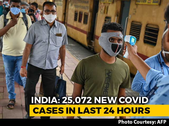 Video : 25,072 New Covid Infections In India, Active Cases Lowest Since March 2020