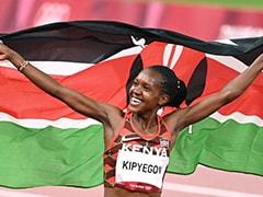 Tokyo Olympics: Kenya's Faith Kipyegon Retains Women's 1500m Title