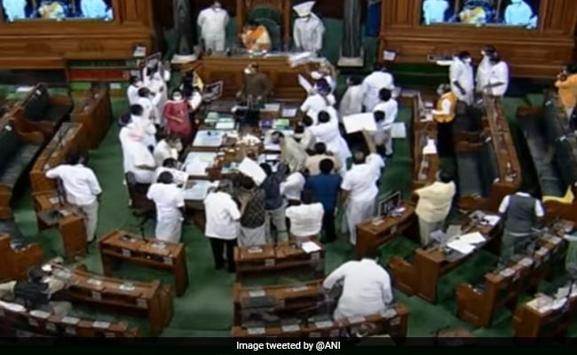 Lok Sabha Adjourned For The Day; 2 Bills Introduced