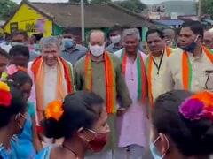 Watch: Union Minister Ashwini Vaishnaw Dances With Villagers In Odisha