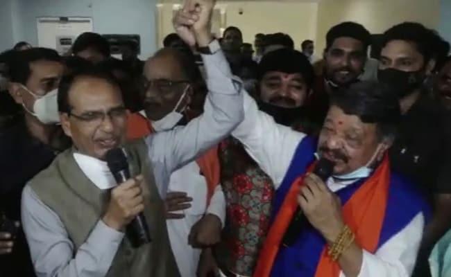 Watch: 'Yeh Dosti...', Shivraj Singh Chouhan-Kailash Vijayvargiya Feat