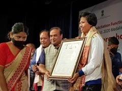 A Red Carpet Welcome For Olympian Lovlina Borgohain As She Reaches Assam