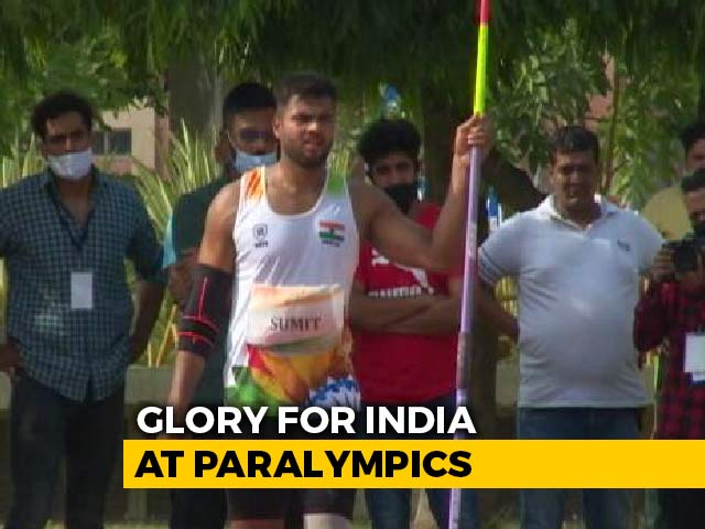 Video : Tokyo Paralympics: Sumit Antil Wins Javelin (F64) Gold, Sets New World Record