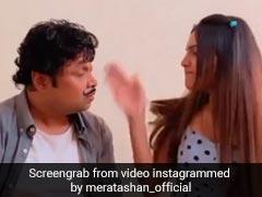 हप्पू सिंह को बेटी नेमारा जोरदार तमाचा, सोशल मीडिया पर वायरल हुआ Video