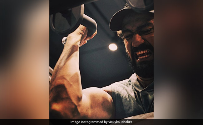 Vicky Kaushal's Work Out Pic Speaks A Thousand Words. No Caption Needed