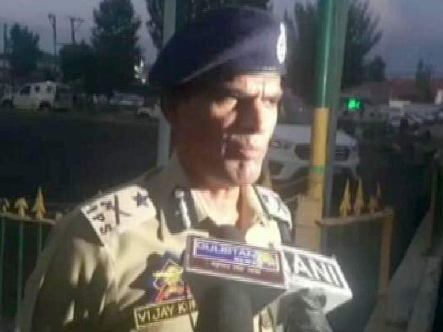 Video : In Swift Op, J&K Cops-In-Plainclothes Kill Top Lashkar Terrorist And Aide