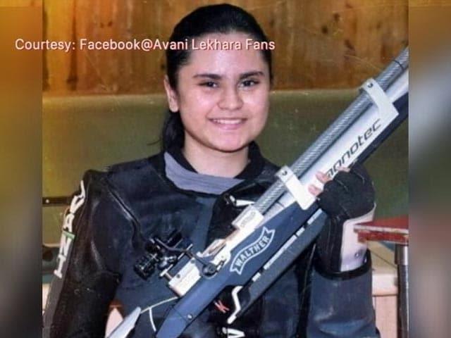 Video : Shooter Avani Lekhara First Indian Woman To Win Gold At Paralympics