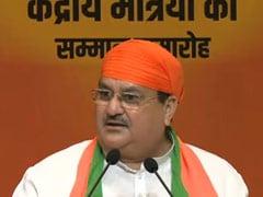JP Nadda Attacks Congress Over Punjab Leaders' Remarks On Kashmir, Pak