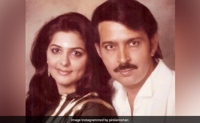 Pinkie Roshan's Throwback To When Husband Rakesh Roshan 'Used To Carry A Comb.' See His ROFL Comment