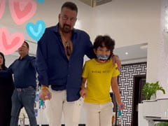 Maanayata Shares A Post From Son Shahraan's Recovery With His Dad Sanjay Dutt By His Side