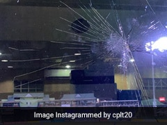 Watch: Chris Gayle Smashes Window With Brilliant Straight Hit In CPL 2021