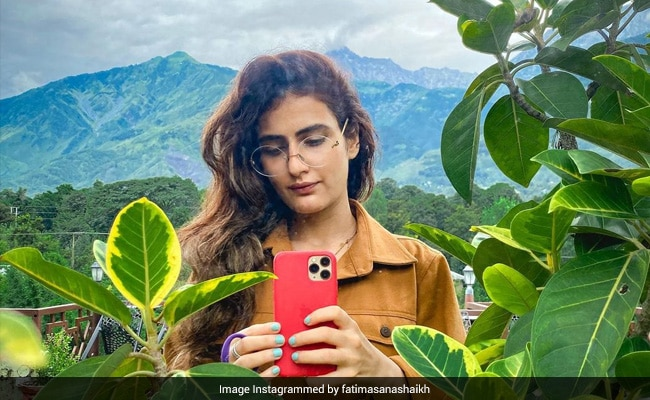Fatima Sana Shaikh's Been Waking Up To This Breathtaking View In Dharamshala. See Pics