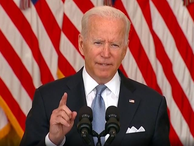 """Video : """"If They Attack Americans...."""": Biden On Taliban"""