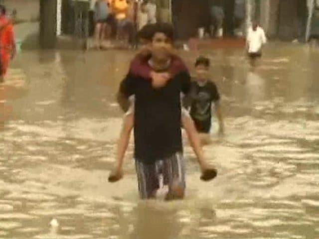 Video : Heavy Rain Leads To Flood-Like Situation In 3 Rajasthan Districts